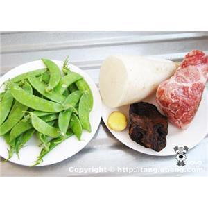 灵芝瘦肉汤