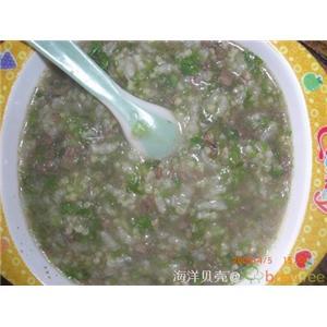 鸭肝浓香粥