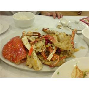 羚羊丝粟米须煲蚌肉