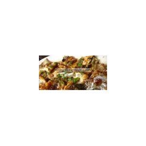 姜葱芫荽蒸带鱼