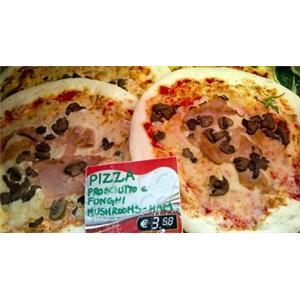 鲜果乳酪皮萨