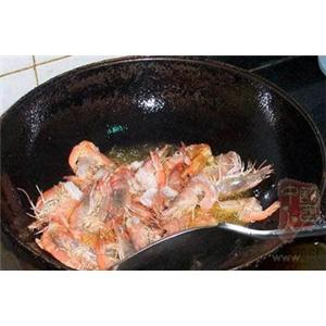 米酒炒海虾