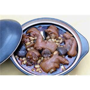 黄豆猪手煲