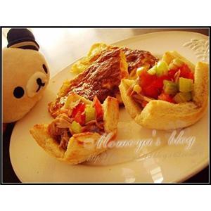 蛋卷鲔鱼饼
