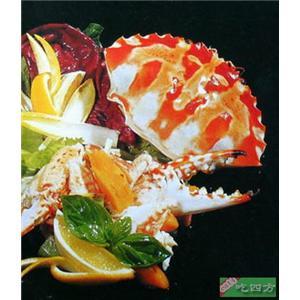 蟹肉木瓜色拉