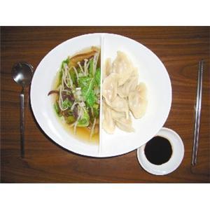 金针菇水饺