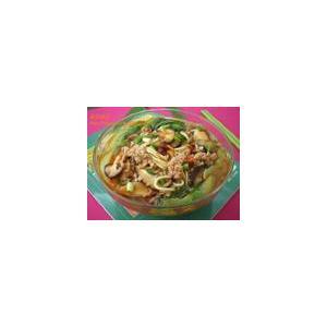 大蒜黄萝卜生菜清汤