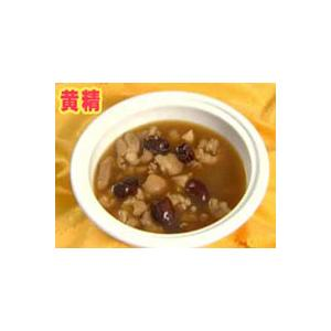 红枣黄精炖猪肘