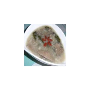 猪胰薏米粥