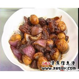 牛腱土豆煲