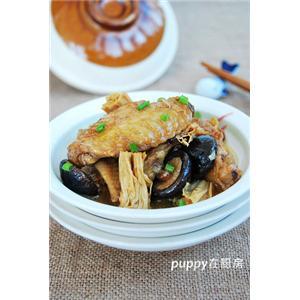 砂锅火腿腐竹