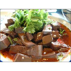 家常血豆腐