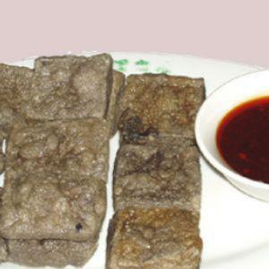 红油臭豆腐