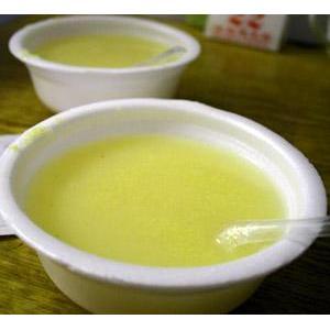 鲜菇小米粥
