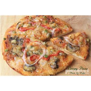 抹酱脆皮披萨