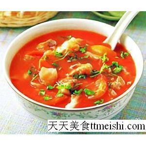 菱肉猪肚汤