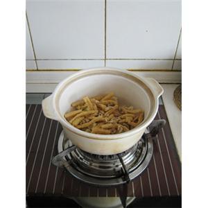 砂锅鲜菇肉片