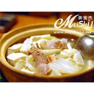 砂锅豆腐海米