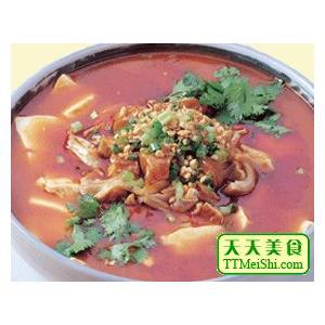 肥肠炖干豆腐