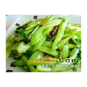 威灵仙炒芹菜