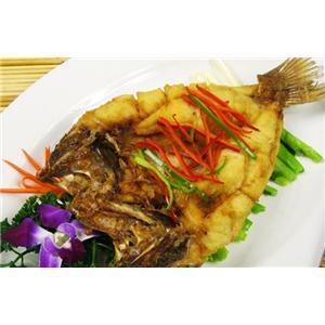 煎炖鲜鲈鱼