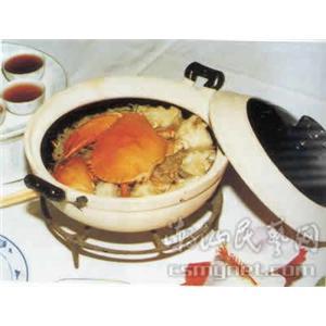 粉丝肉蟹煲