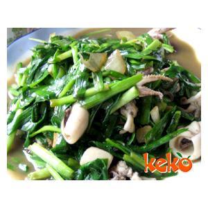 墨鱼炒韭菜