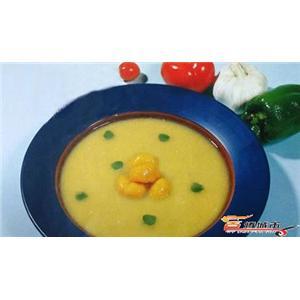奶油栗蓉汤
