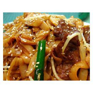 越南生牛肉炒河粉