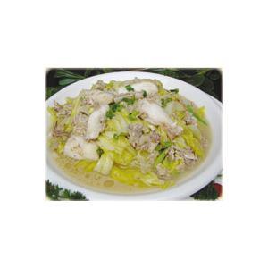 虾酱乌鱼炖白菜