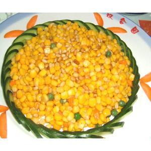 鲜豌豆烩鱼米