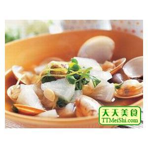 牡蛎墨鱼汤