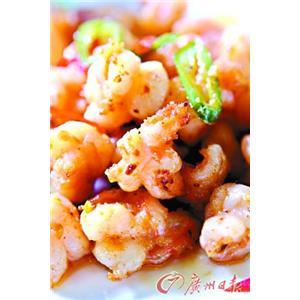 鹑蛋菜包虾仁