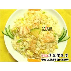豆腐鸡蛋炒饭