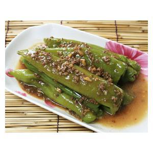 榄菜酿尖椒