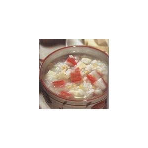 蟹肉豆腐汤