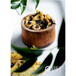 雪菜芦笋饺