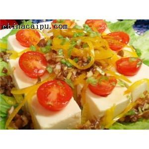 珍珠翠豆腐
