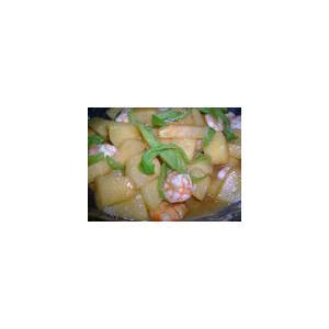 烩青虾口蘑