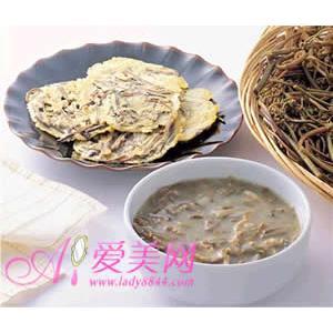 锅焖蕨菜鱼卷