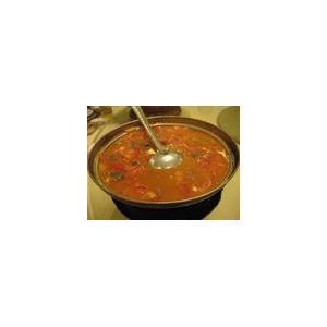 鸡片柿子汤