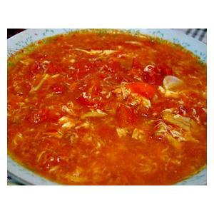 鲜茄蛋花汤