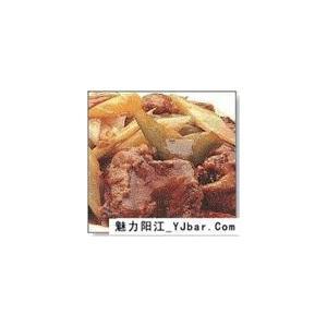 高加索式煎羊肉片