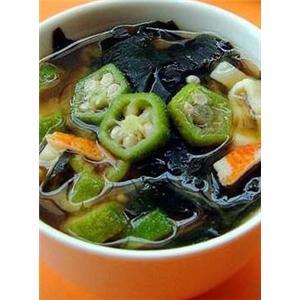 甜椒滚潺菜汤
