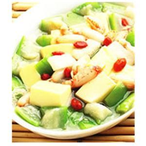 丝瓜豆腐响螺汤
