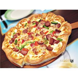 意式熏鸡披萨