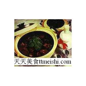 砂锅龟肉汤