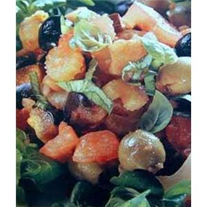 豆茸酿枇杷