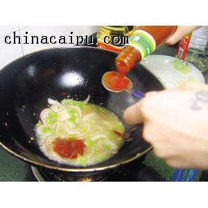 茄汁凤尾虾