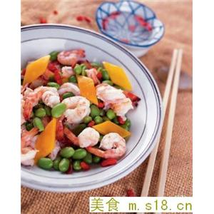 酿蒸凤尾虾
